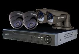 Внимание! В продажу поступили готовые комплекты видеонаблюдения!